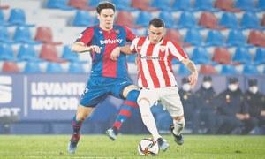 Berenguer fires Bilbao into second successive Copa final