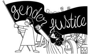 Cartoon: 8 March, 2021