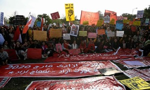 Women march in major cities across Pakistan against 'pandemic of patriarchy'