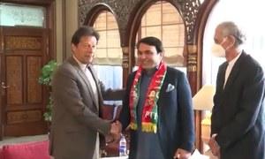 بلوچستان سے نو منتخب سینیٹر عبدالقادر تحریک انصاف میں شامل