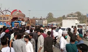 گوجرانوالہ: نجی ہاؤسنگ سوسائٹی کے سیکیورٹی عملے اور مظاہرین میں تصادم، 3 افراد جاں بحق