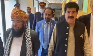 عبدالغفور حیدری نے ڈپٹی چیئرمین سینیٹ کی 'حکومتی پیشکش مسترد' کردی