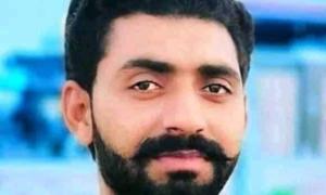 سندھ یونیورسٹی کے طالب علم کے پولیس حراست میں مبینہ قتل پر احتجاج