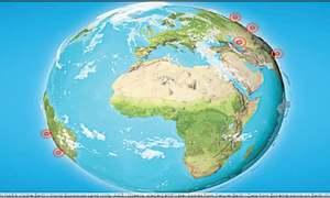 Website review: Let's explore the globe!