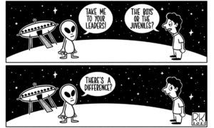 Cartoon: 14 March, 2021