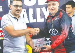 Nadir Magsi, Tushna Patel clinch Hub Rally titles in style