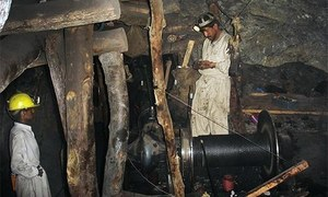 بلوچستان: کوئلے کی کان سے 7 کان کنوں کی لاشیں نکال لی گئیں