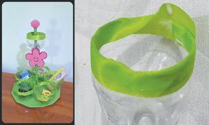 Wonder Craft: Plastic bottle organiser