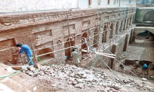 Centuries-old baoli being restored
