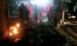 چمن: پولیس موبائل پر دھماکا، 3 افراد جاں بحق، 13 زخمی