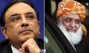 Fazl, Zardari vow to keep PDM intact