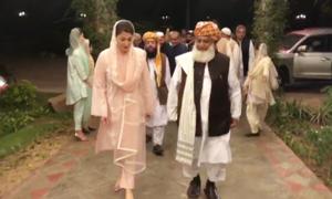 Maryam, Fazl pause political activities after doctors 'advise rest'
