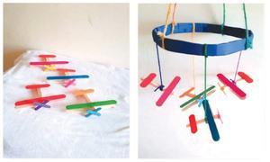 Wonder Craft: Ice cream stick planes