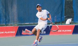 TENNIS: PAKISTAN'S GREAT NEW HOPE