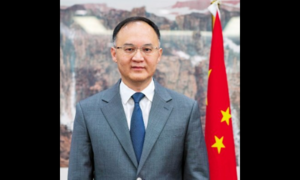 Chinese envoy sees steady progress on CPEC projects