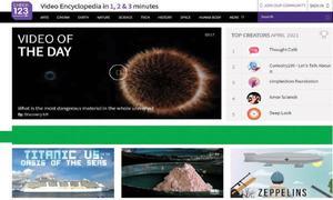 Website review: Videos' galore