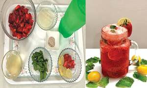 Cook-it-yourself: Strawberry lime mocktail