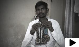 پاکستان کا نام روشن کرنے والا کھلاڑی مسیحا کا منتظر