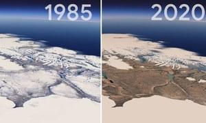 ہماری زمین گزشتہ 4 دہائیوں کے دوران کیسے بدل گئی؟ گوگل ارتھ سے جانیں