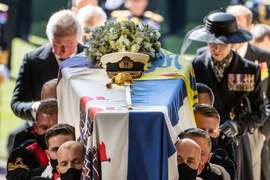 Queen Elizabeth II lays to rest her 'strength and stay' Prince Philip