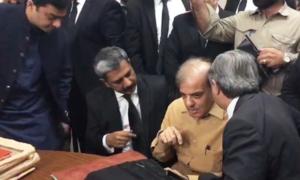 LHC bench gives split ruling on Shehbaz's bail plea