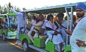 Lots of festivities at Kartarpur