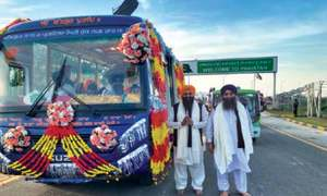 Sikh pilgrims recount overnight stay experience