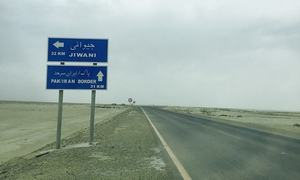 SITUATIONER: Starvation awaits drivers working along Pak-Iran border