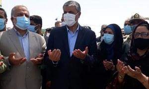 ایران کے ساتھ تیسرے بارڈر کراسنگ پوائنٹ کا افتتاح
