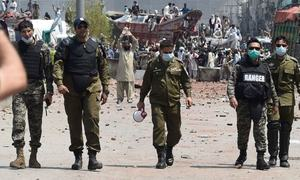 حکومت-ٹی ایل پی معاہدے سے پنجاب پولیس کے سینئر افسران مضطرب