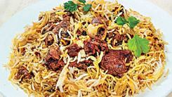 Two types of pulao with a side of history