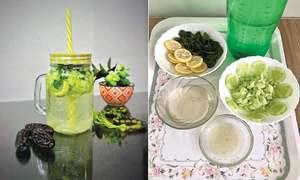 Cook-it-yourself: Lemon cucumber cooler