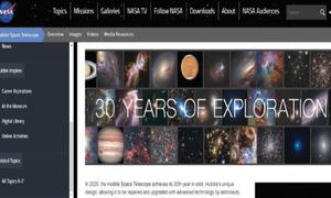Website review: Exploring space with Hubble