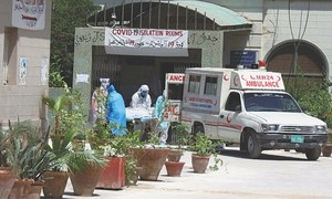 Sindh govt's year-long lethargy keeps LUH ill-equipped to cope with fresh Covid-19 wave