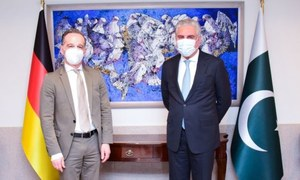 In meeting with German counterpart, FM Qureshi underscores need for peace in Afghanistan