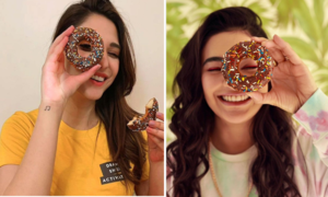 Peek Freans is spreading smiles all over the internet with their new Smile Donut Cake