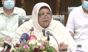 All ventilators in Gujranwala, 81.5pc in Lahore occupied, warns Yasmin Rashid