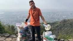 A British diplomat is cleaning trash in Islamabad and Wasim Akram is ashamed for all of us