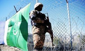 پاک-افغان سرحد پر دہشت گردوں کی فائرنگ سے ایک فوجی زخمی