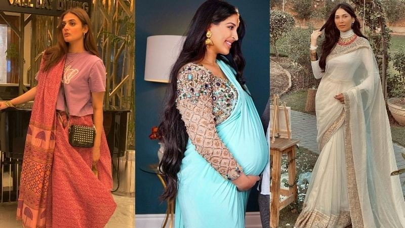 How to style your sari with a twist this Eid