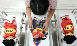 چین میں شرح پیدائش 6 دہائیوں کی کم ترین سطح پر پہنچ گئی