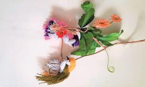 Wonder Craft: Easy yarn birds