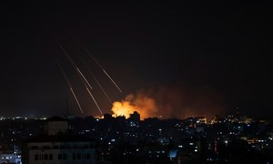 Israel pounds Gaza with air strikes; Palestinian fatalities cross 100