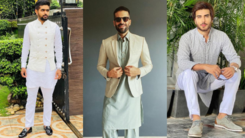 Five male celebrities whose stylish outfits stood out this Eid