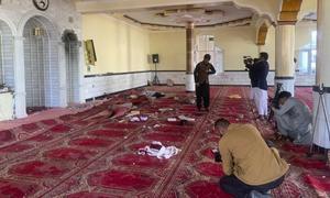 کابل کی مسجد میں نماز جمعہ کے دوران دھماکا، 12 نمازی جاں بحق