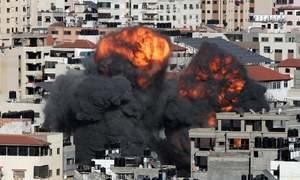 غزہ پر اسرائیلی حملے چھٹے روز میں داخل، جاں بحق فلسطینیوں کی تعداد 140 ہوگئی