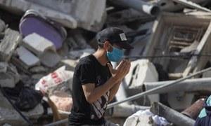 غزہ پر اسرائیل کی وحشیانہ بمباری، جاں بحق فلسطینیوں کی تعداد 192 ہوگئی