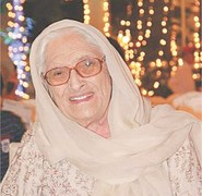 A towering personality among political giants of her times