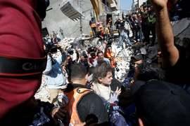 Palestine bloodbath