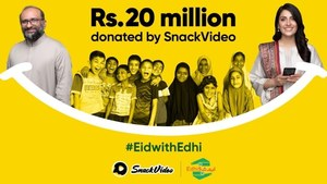 SnackVideo-Edhi Ramazan campaign raises Rs20 million in donations